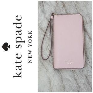 🆕 Kate Spade wallet wristlet/Iphone holder combo